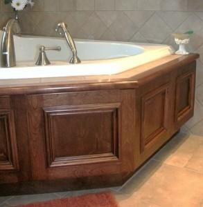 Podium bath
