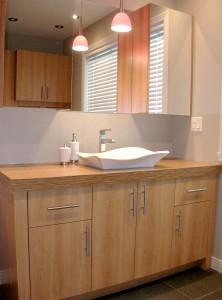 Salle de bain - Armoires et vanité
