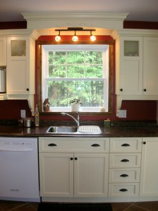 Kitchen - Cabinets and sink