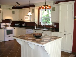 Kitchen - Cabinets and island