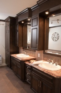 Bathroom - His and her sinks