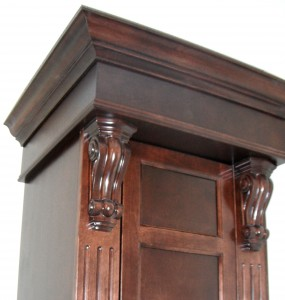 Bathroom cabinets - Woodwork, detail