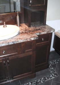 Bathroom - Vanity, marble