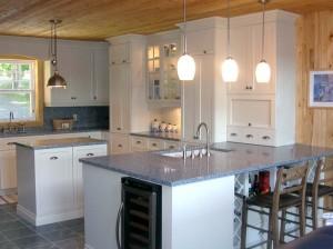 Kitchen - Cabinets, island