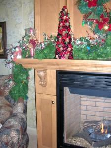 Foyer (manteau de cheminée) - Détail