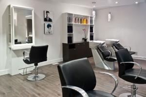 Salon de coiffure - Aire de travail
