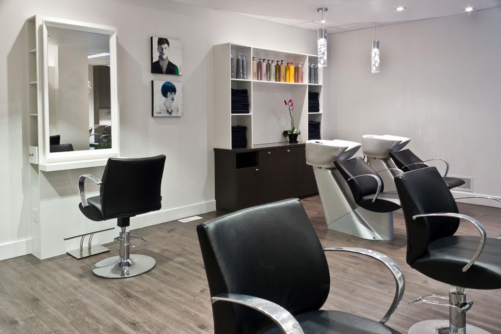 Espace bien tre les armoires saint romain inc - Mobilier de salon de coiffure ...