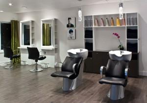 Salon de coiffure - Mobilier moderne