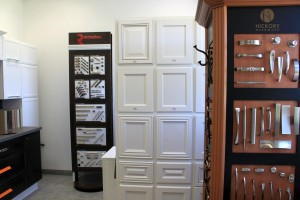 Selection of hardware and cupboard design