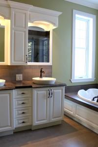 Algues douces les armoires saint romain inc - Vanite salle de bain contemporaine ...